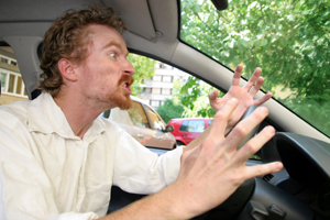 Angry driver 300